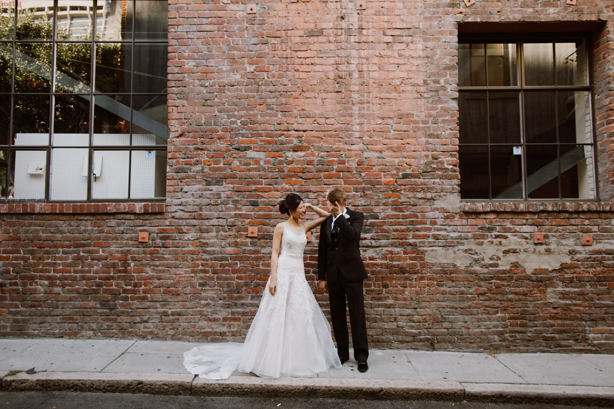 San Francisco wedding portraits.