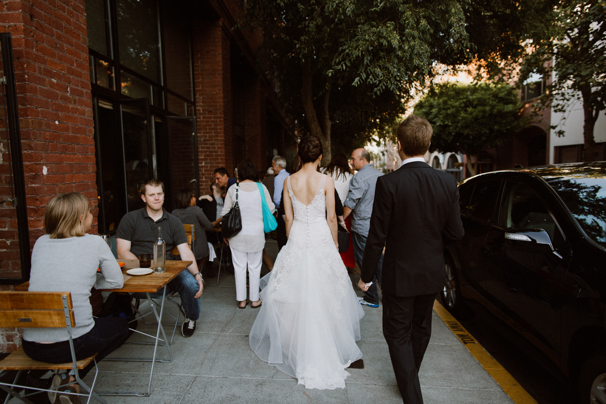 Bride & Groom in San Francisco.