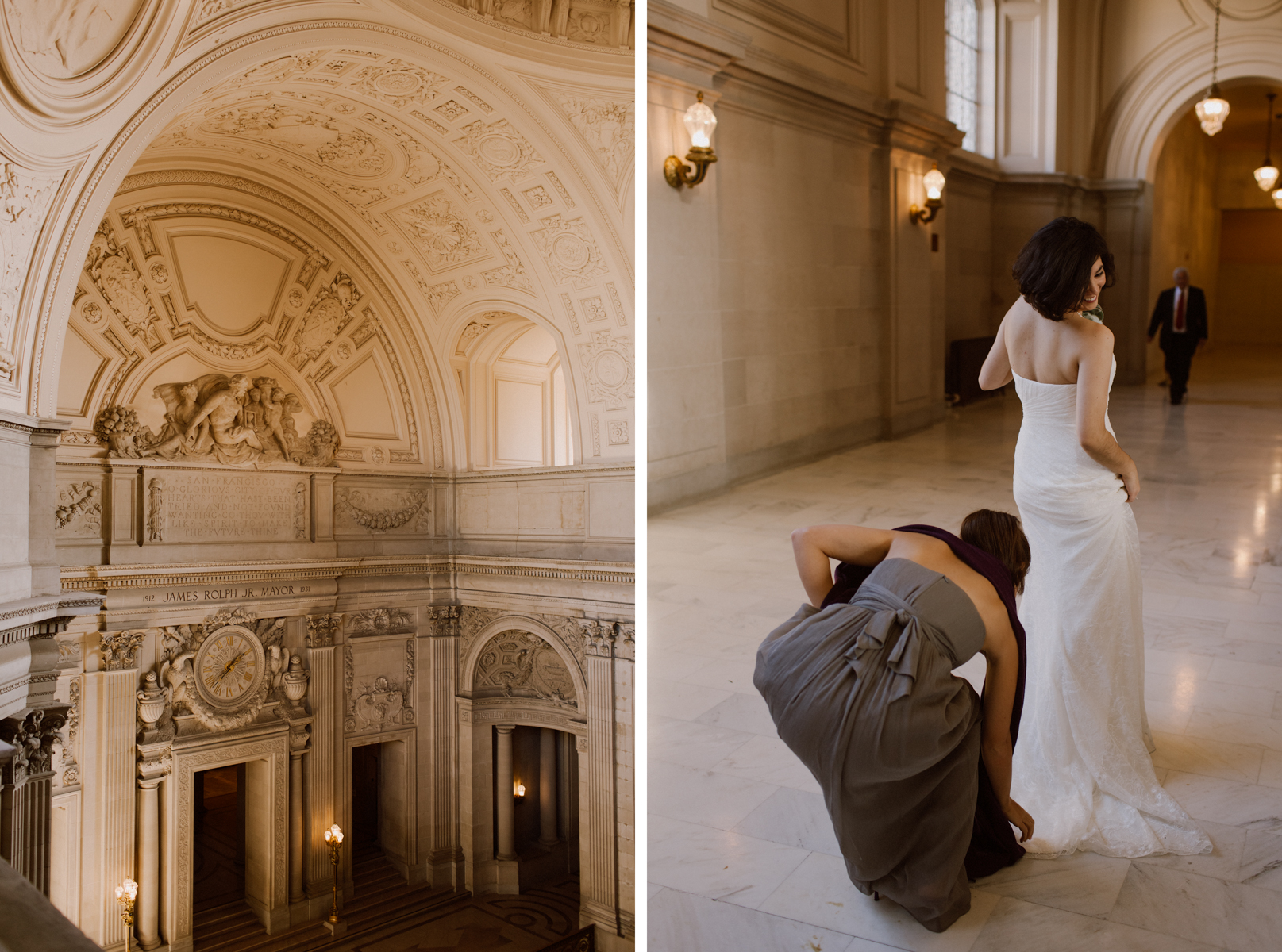 SF City Hall Fourth Floor Wedding