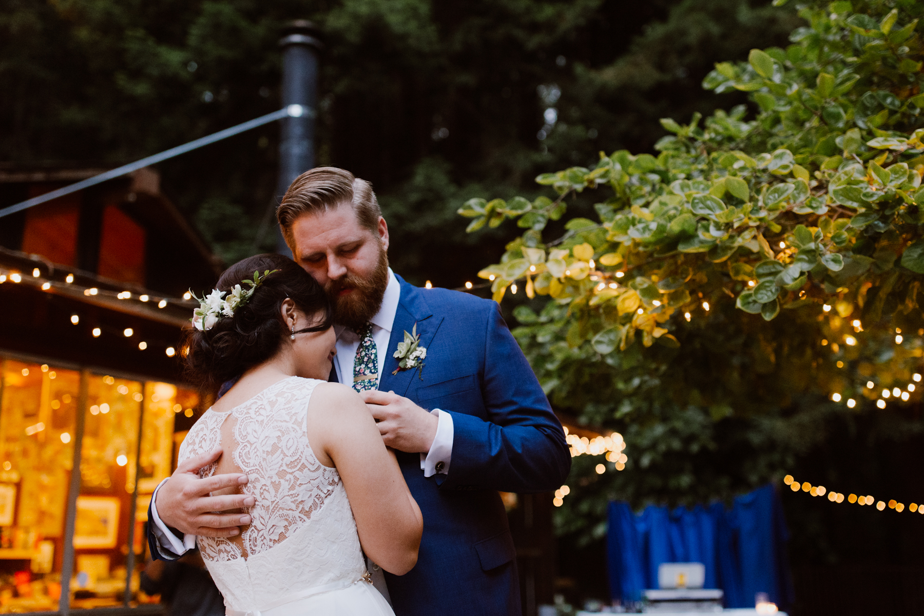 First dance at the Henry Miller Library, Big Sur.