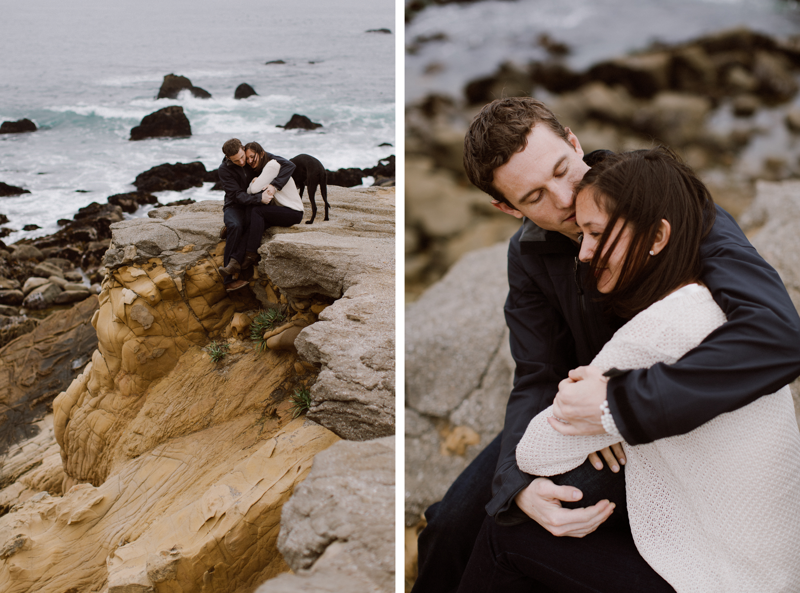 Engagement session, Jenner.