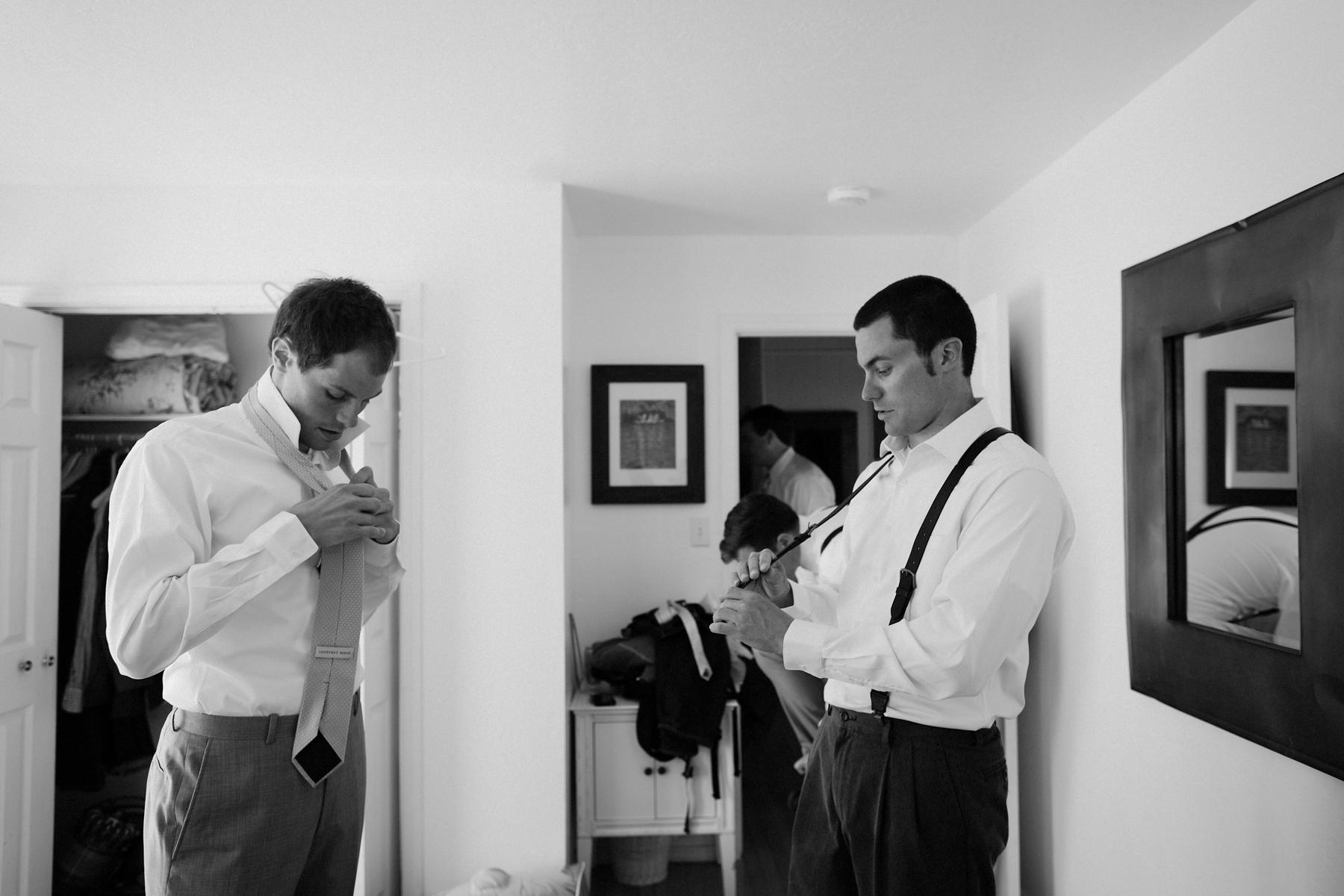 Guys getting ready, Monte Rio.
