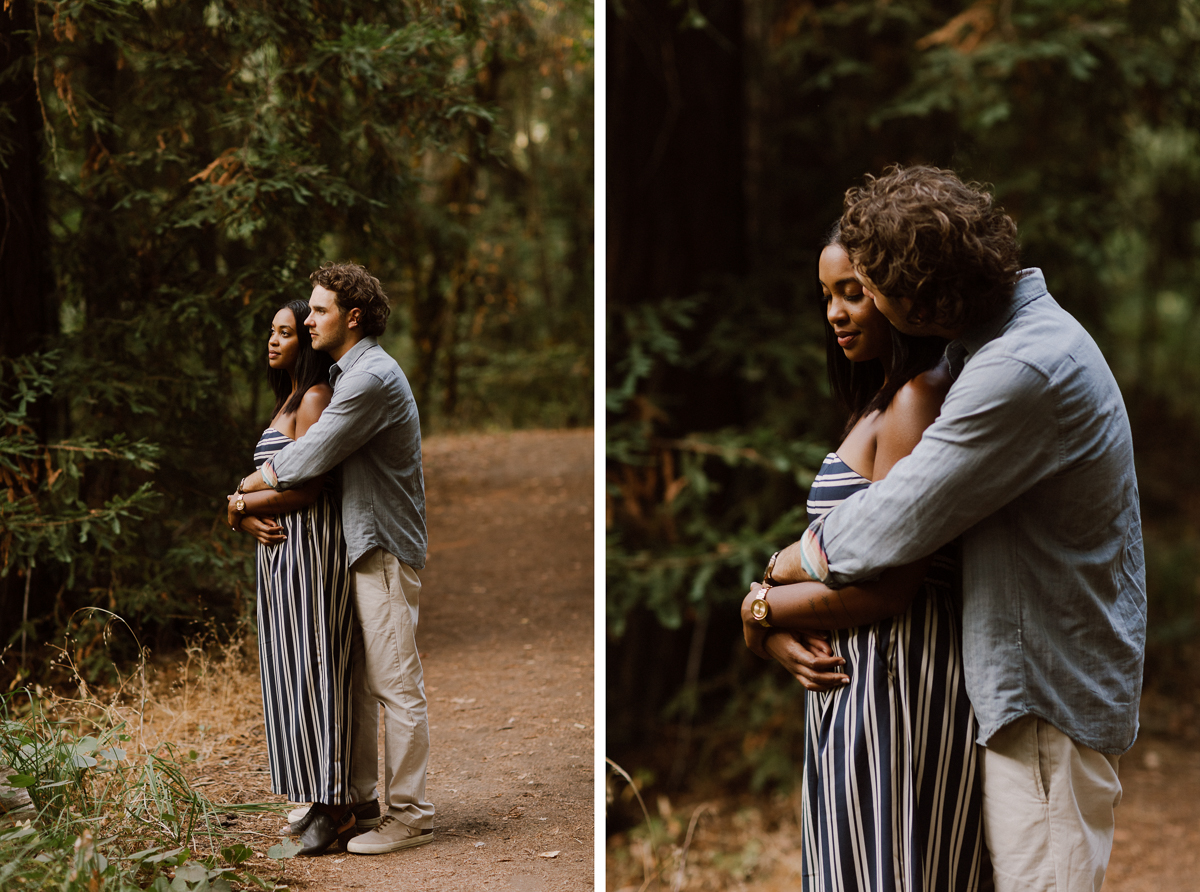 Engagement session in Sonoma, CA