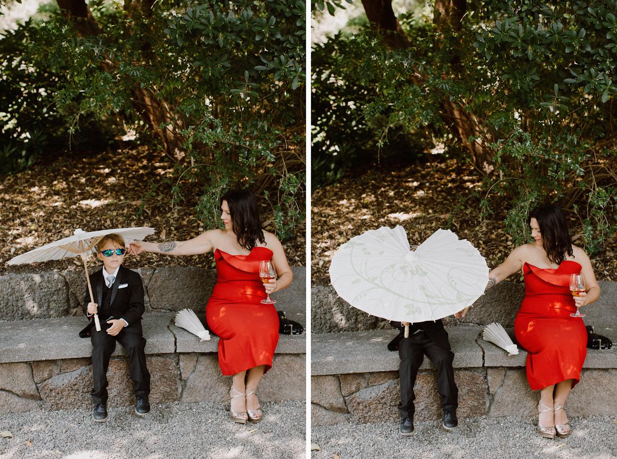 Marin art and garden center gay guys wedding