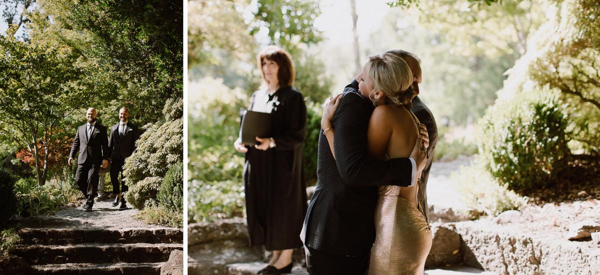 Marin art and garden center same sex wedding