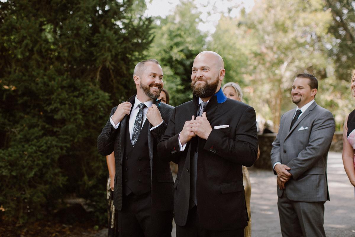 Marin art and garden center big gay wedding