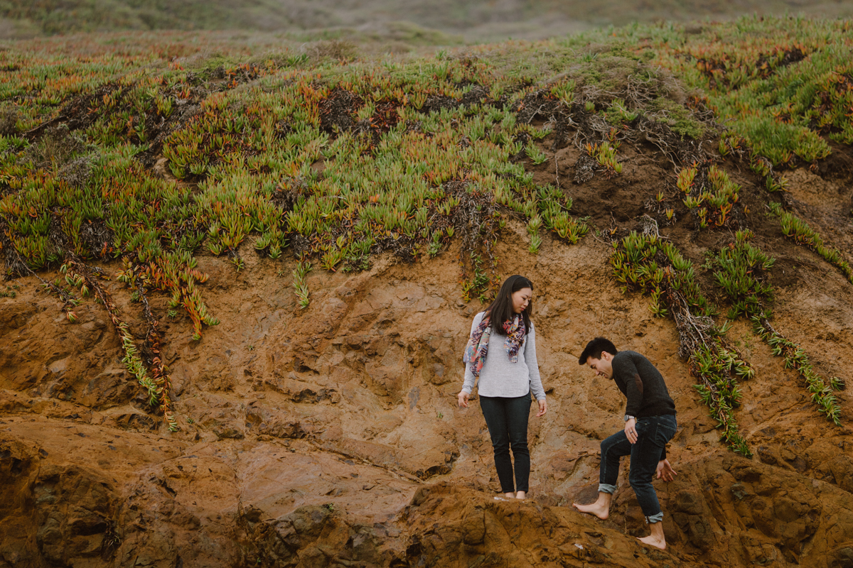 Marin Headlands engagement pictures