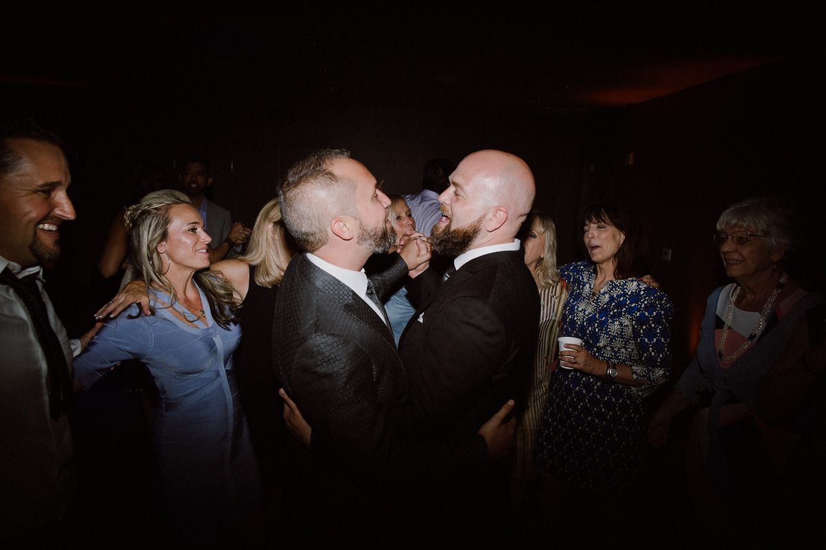 Marin art and garden center gay wedding
