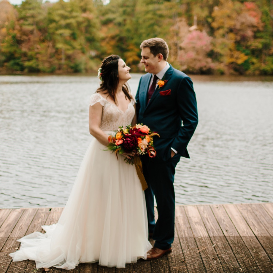chattahoochee nature center wedding