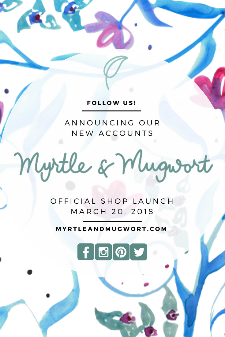 New Social Media Myrtle & Mugwort