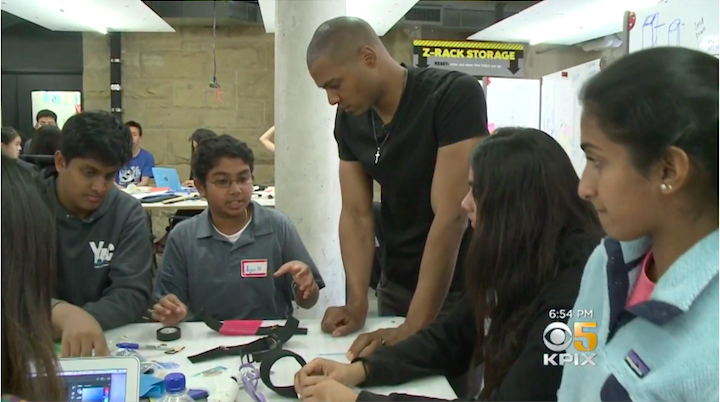 CBS - Teenagers Create Solutions To Improve Others' Lives Through Design The Future
