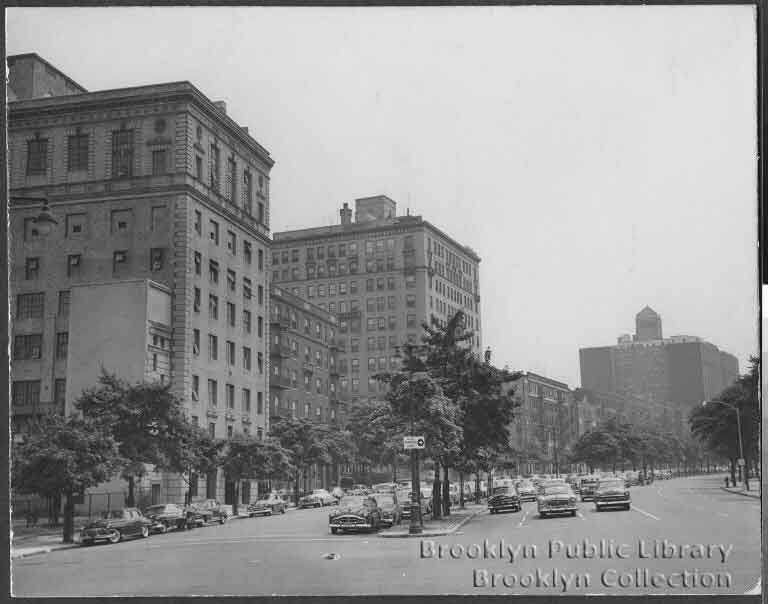 1954 Eastern Parkway from Plaza Street