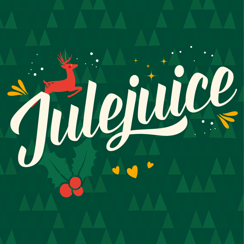 Julejuice 7,5%    A dank and juicy Christmas offering. Hopped with Simcoe, CTZ, Chinook and Mosaic.