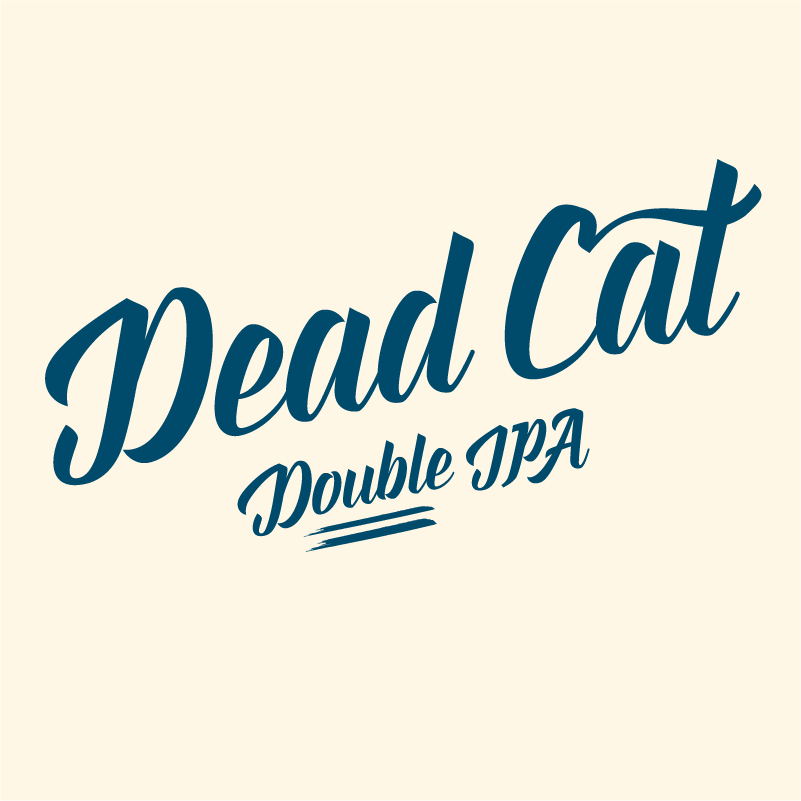 Dead Cat Double IPA 8,0%   Powerful and hoppy, yet balanced and smooth. Tons of awesome hops gives our Dead Cat all the tropical hoppy goodness you need.
