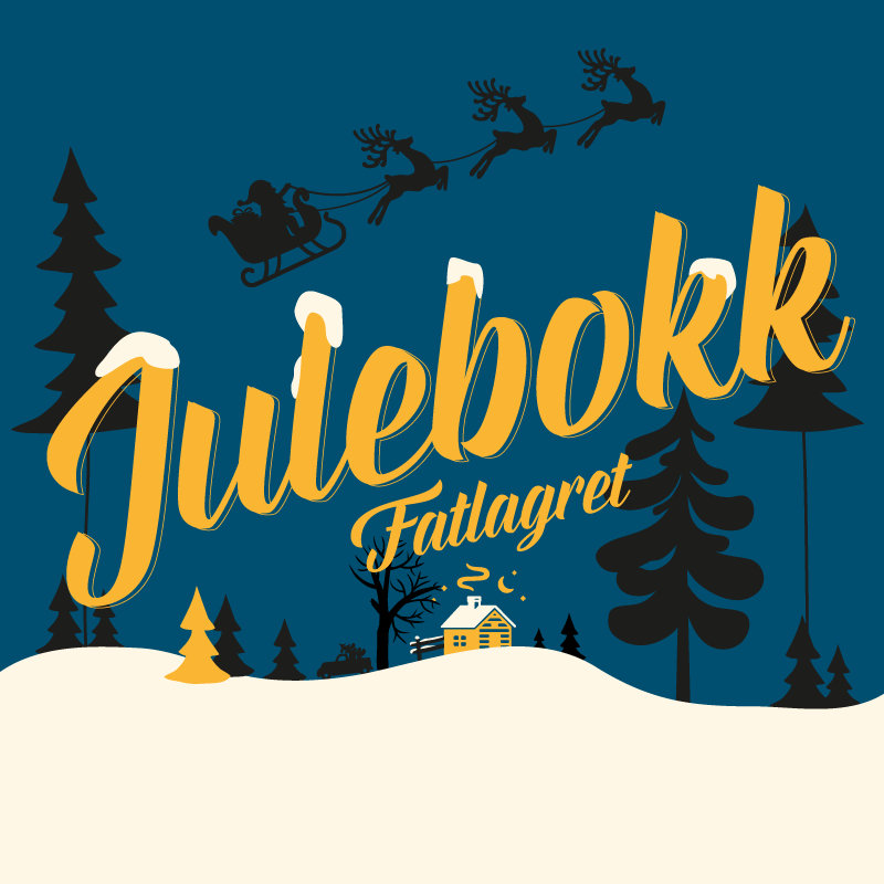 Fatlagret Julebokk 8,8%   A Bourbon barrel aged version of Julebokk. This one is even more intense and smells of vanilla, oak, dried fruits and caramel.