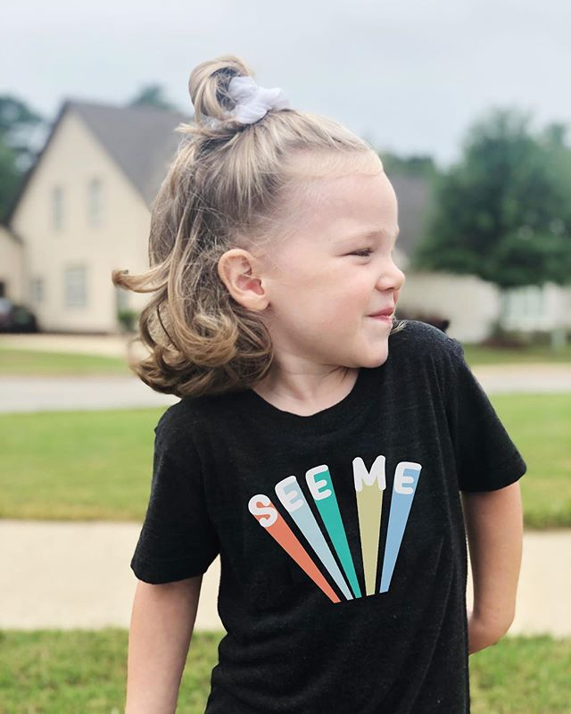 See Me shirts are back in stock. These shirts are ready to ship and for today only, grab FREE SHIPPING on us! Just use the code: FREESHIP at checkout! Happy Friday y'all!