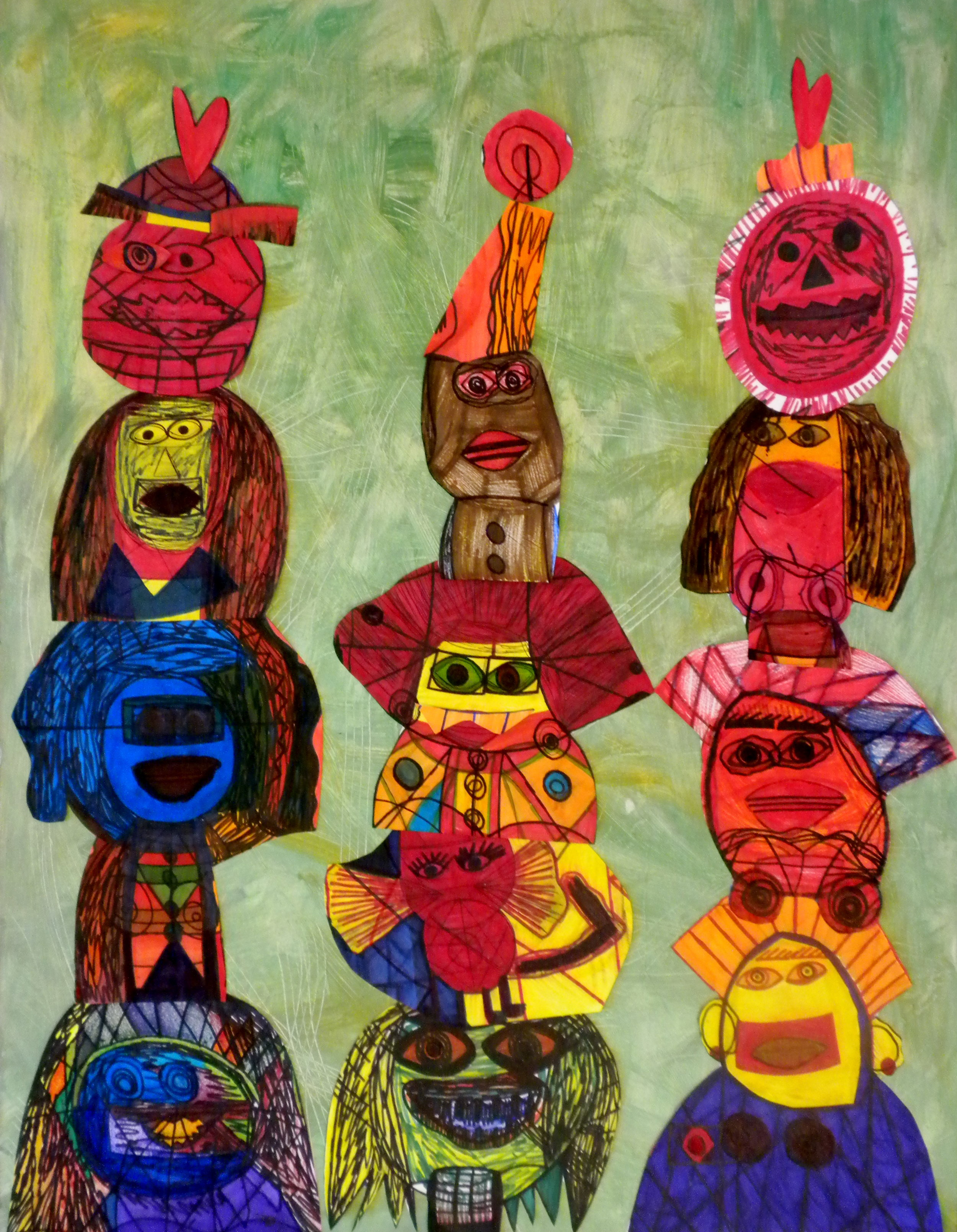 CreativeClayGoodFolkGallery_JosephH_Totems.JPG