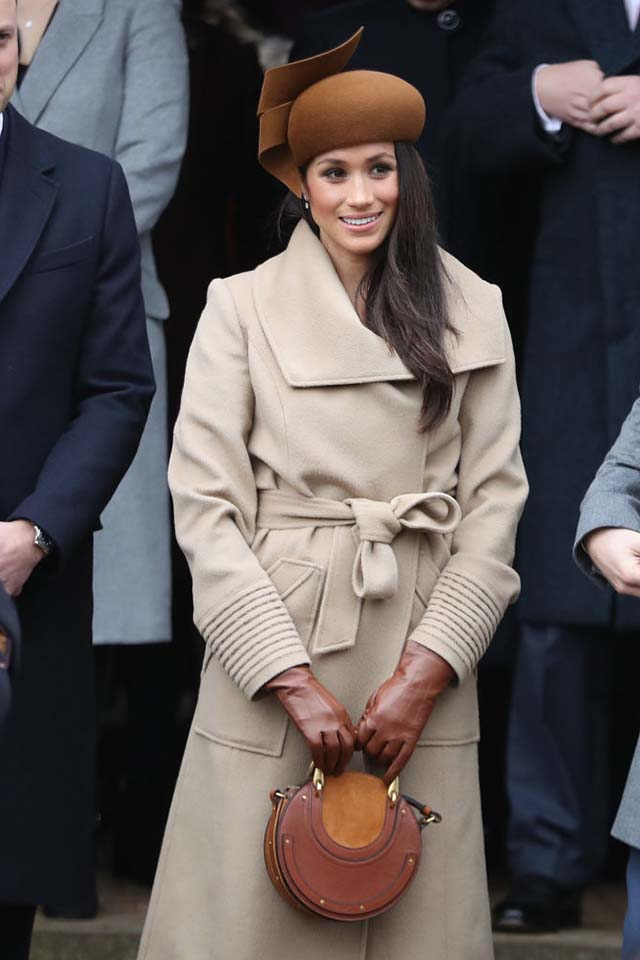 MEGHAN MARKLE IN SENTALER | photo by:  Getty Images