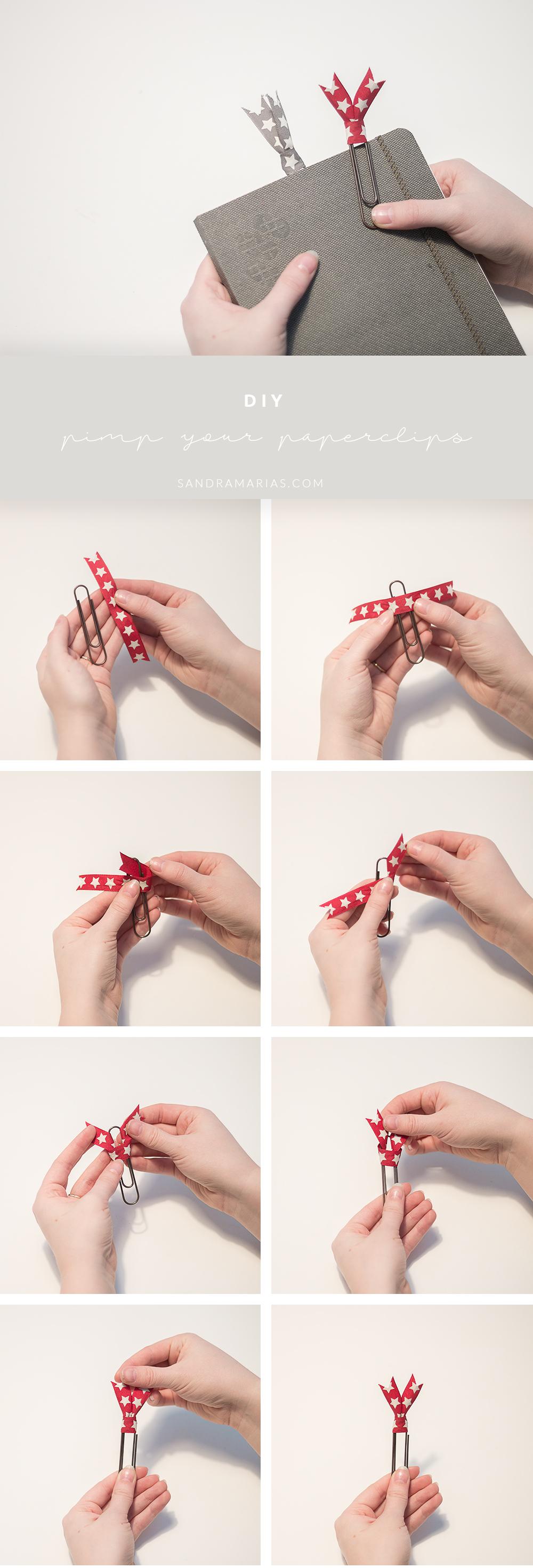 Pimp your paperclips | Cute paperclips | DIY | Sandramarias.com