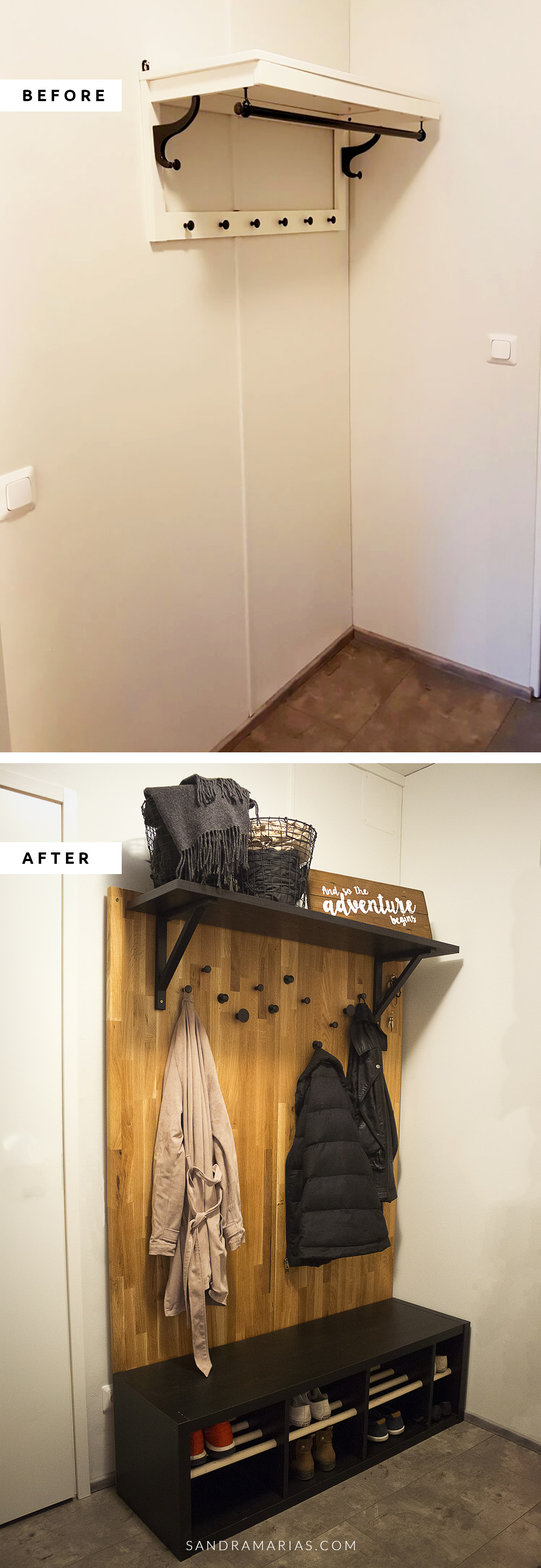IKEA HACK: before and after