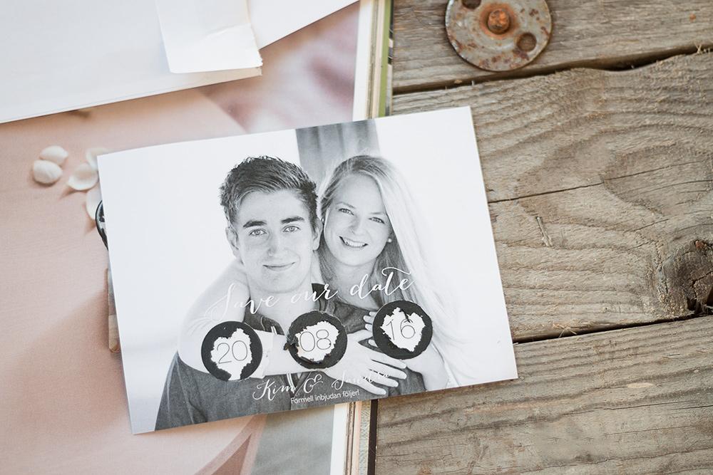 Save the date | Scratch off cards | Sandramarias.com