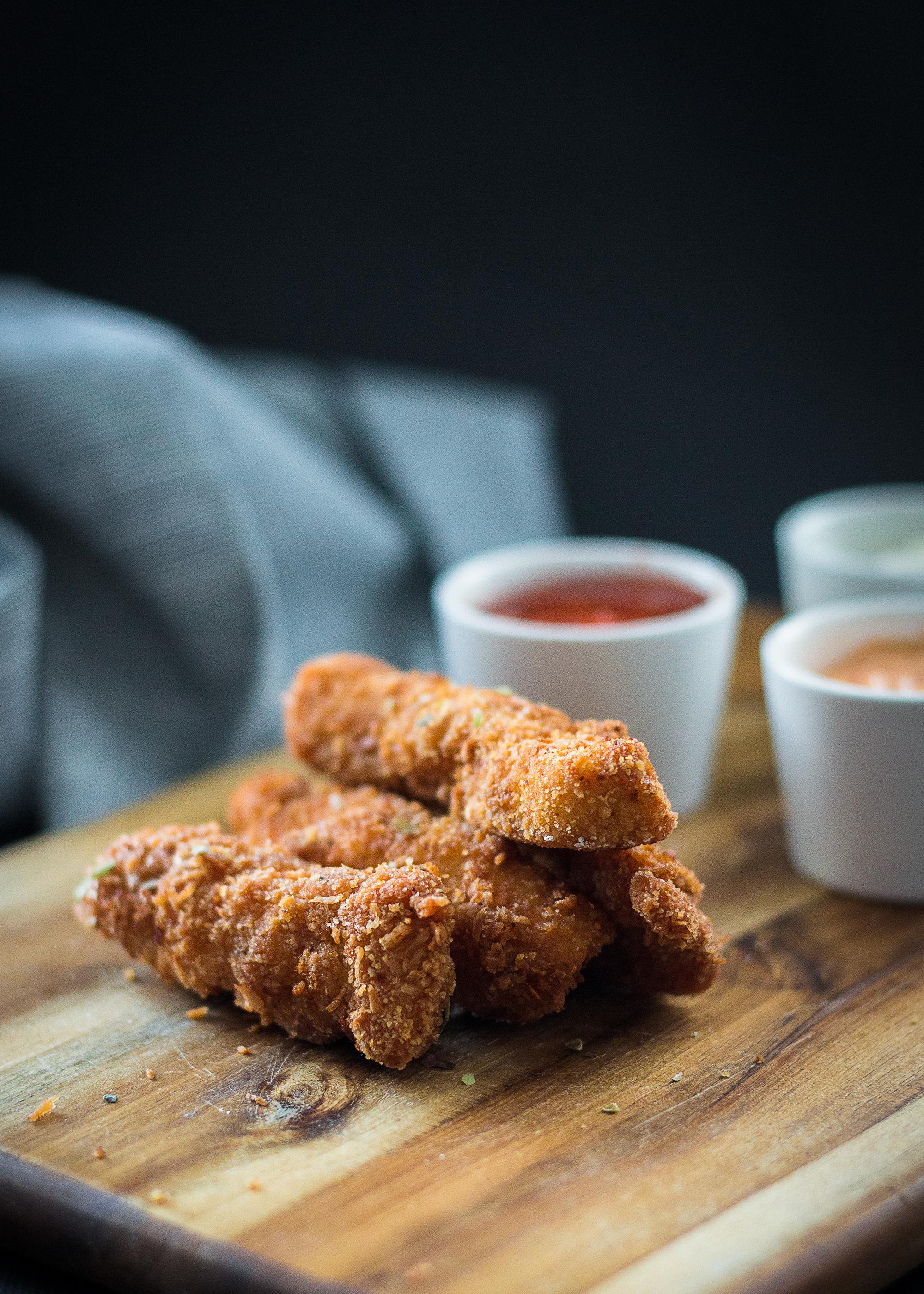 Krispig kyckling   Recept   Sandramarias.com