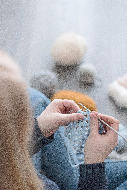 Projekt Restgarn | Hur jag använder upp mitt restgarn | Sandramarias.com