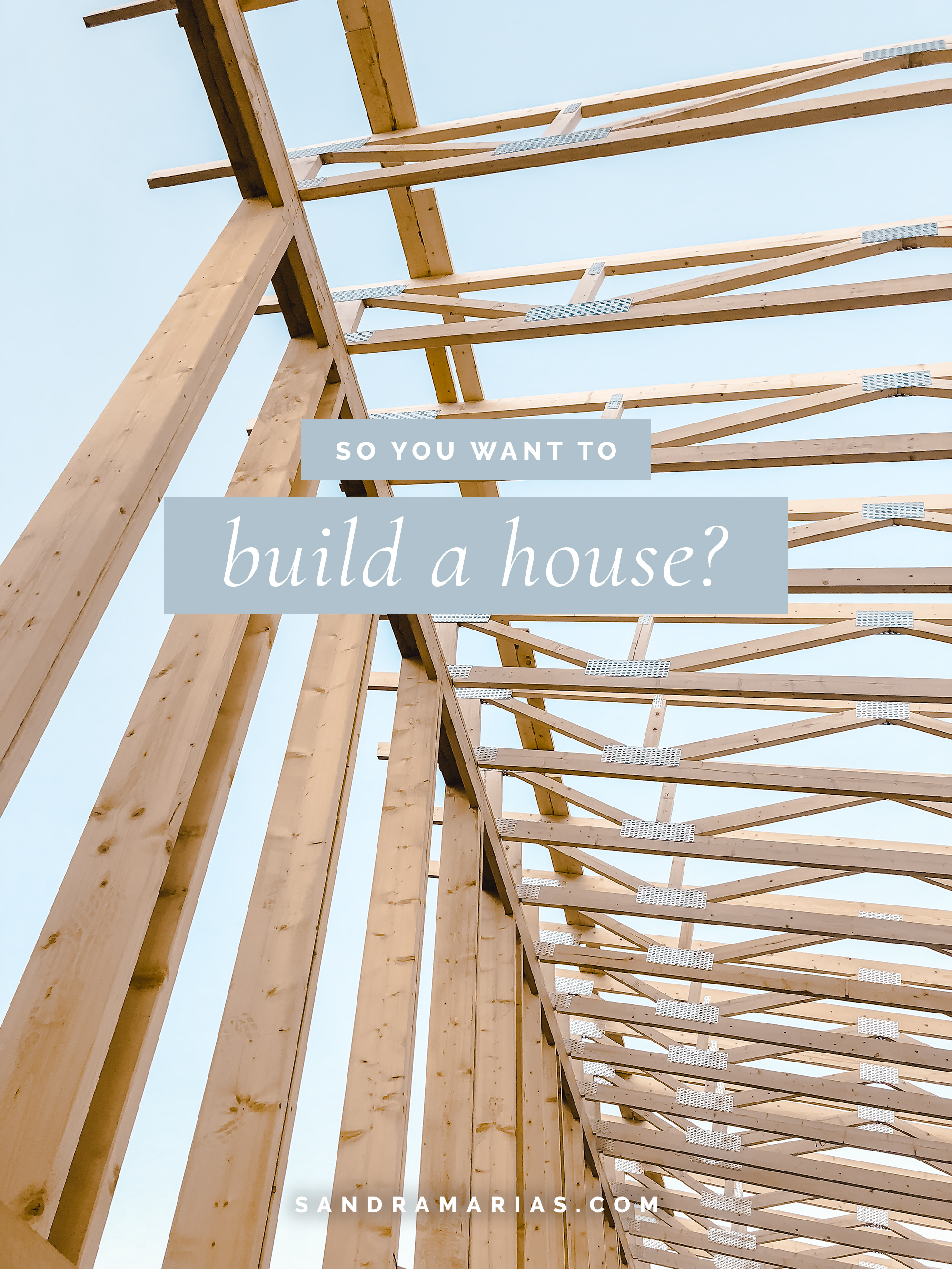 The Ins and Outs of Starting a House Building Project ||Building Home ||The Process ||By Sandramaria ||Sandramarias.com