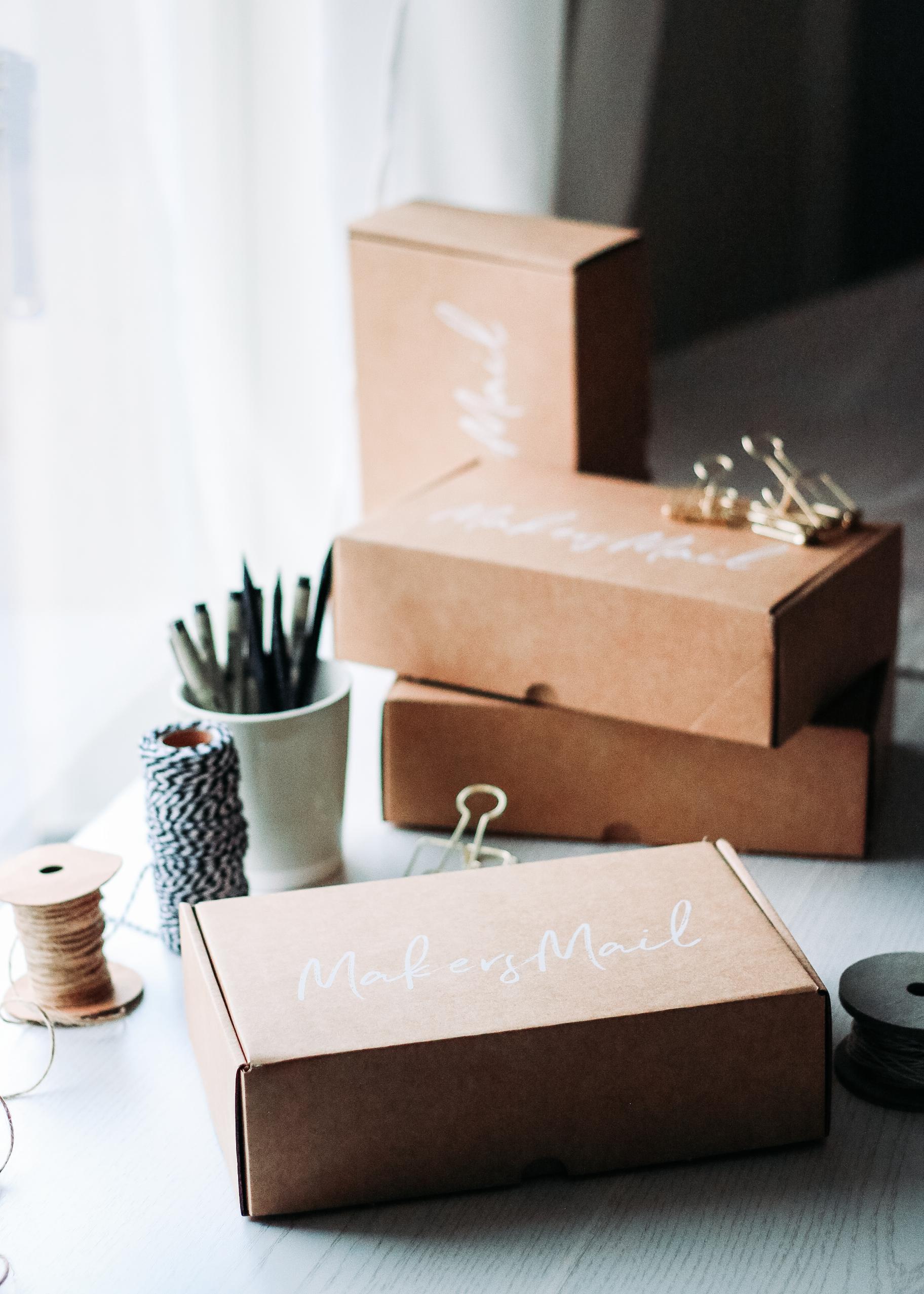 Makers Mail | DIY-box | Prenumeration | DIY inspiration direkt hem på posten | Makersmailcompany.com | By Sandramaria
