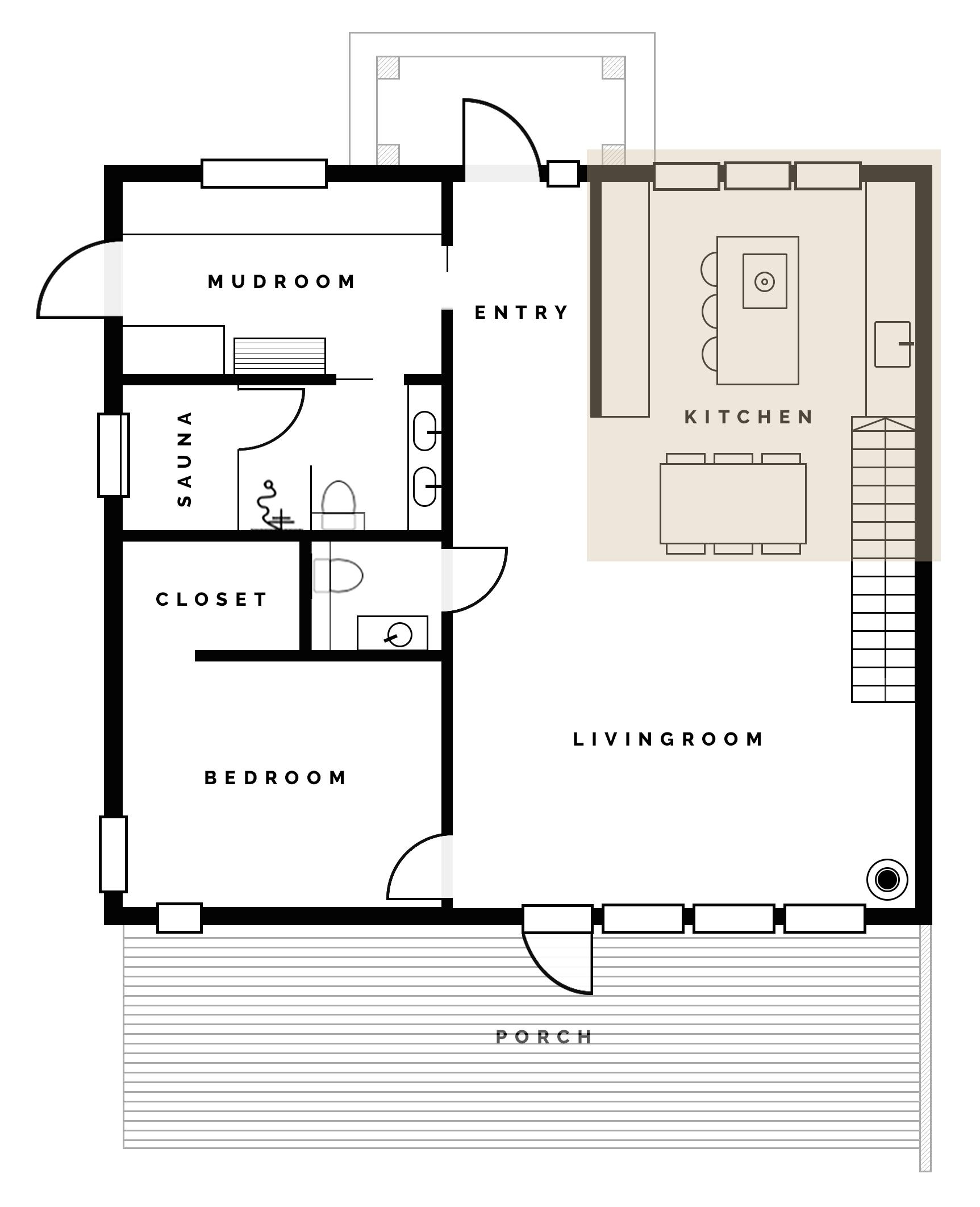 Vi Bygger Hus! | Köksplanering | Planlösning i köket | Sandramarias.com