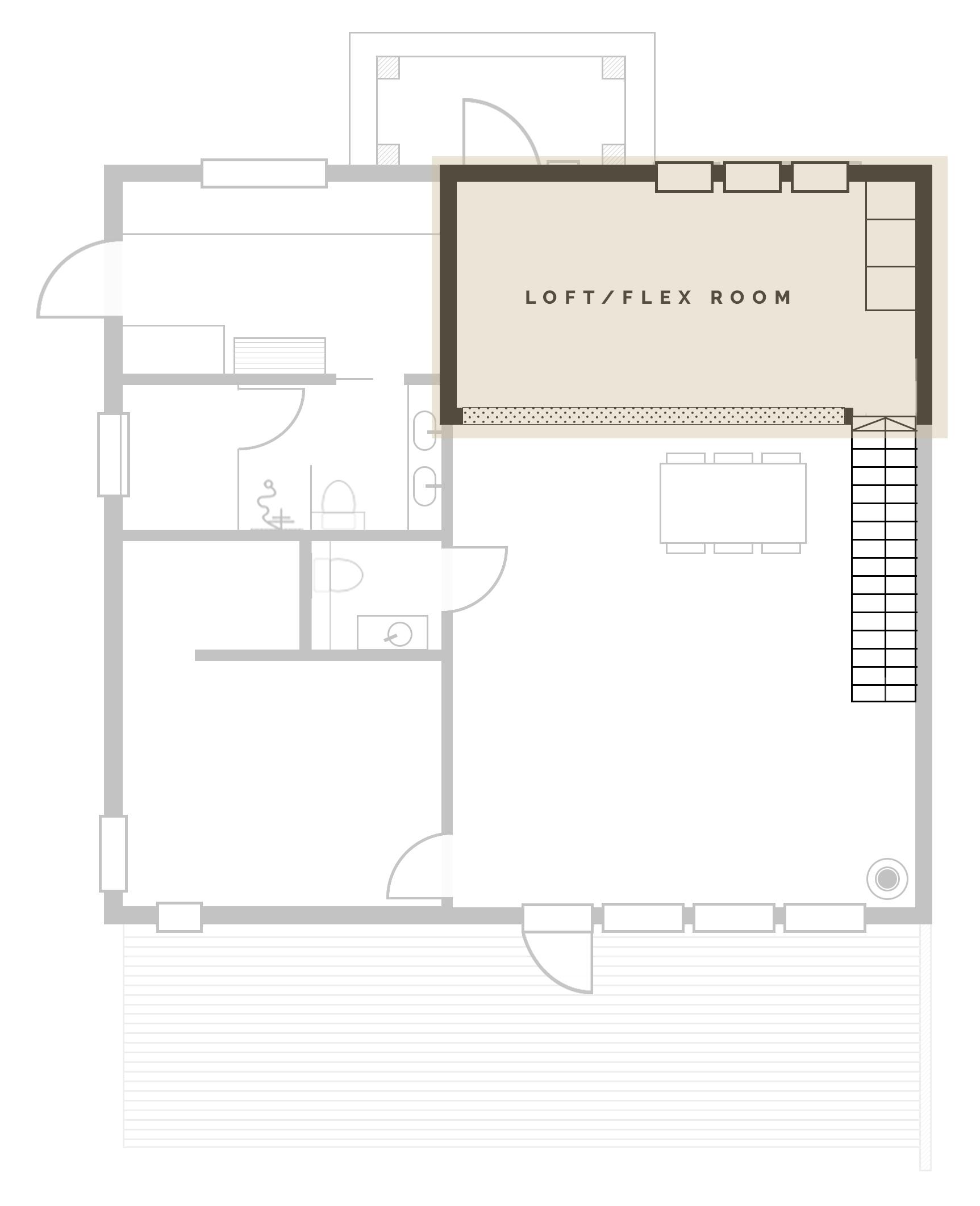 Planlösning Loft | Bygga hus | By Sandramaria | Sandramarias.com