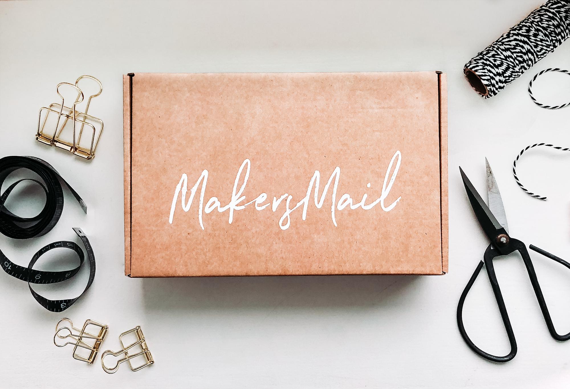 Makers Mail | DIY box | Hantverksprenumerationstjänst i Norden | By Sandramaria | Sandramarias.com