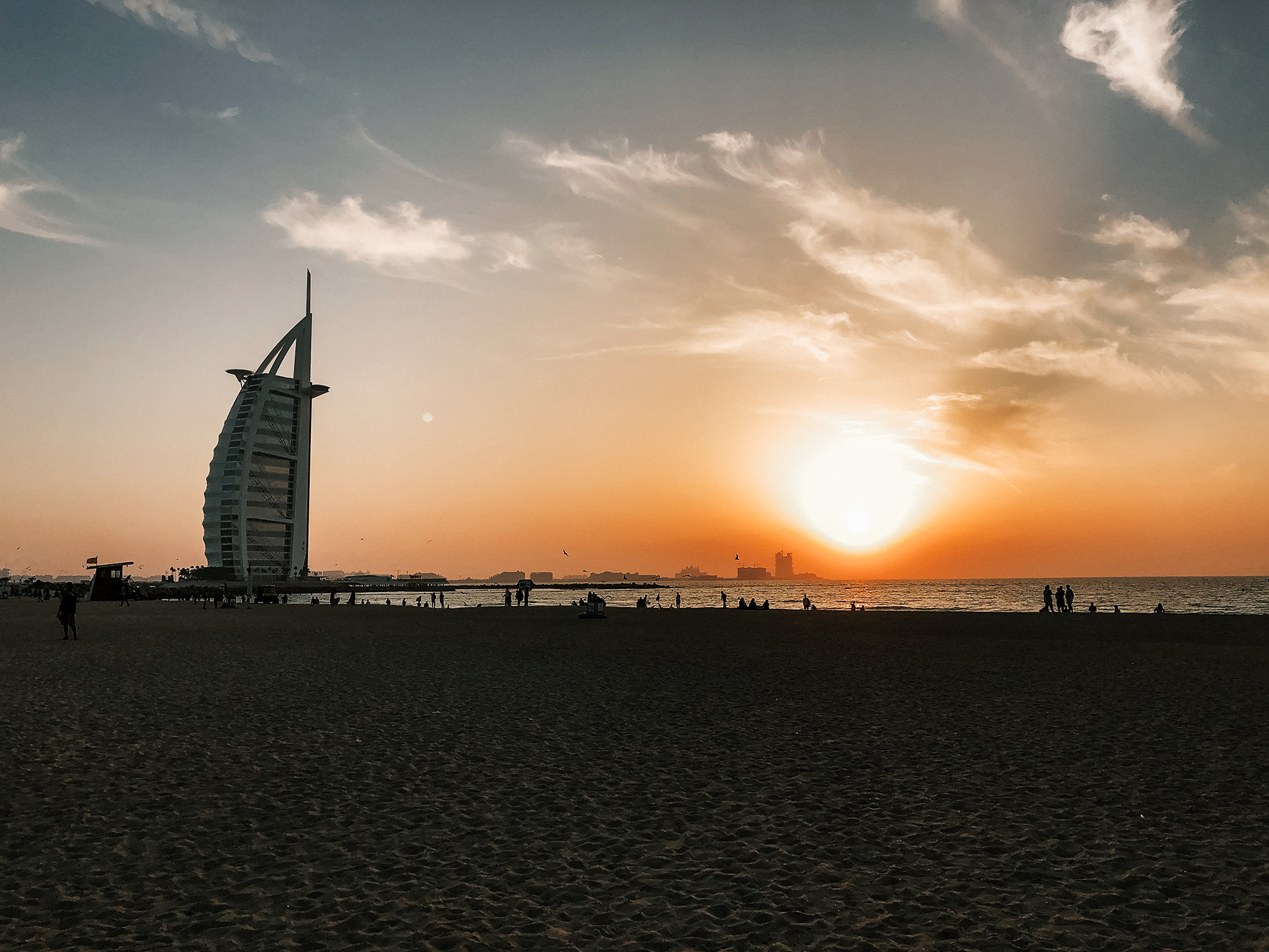 Dubai A-Ö | Dubai reseguide | Travel Guide Dubai | Jumeirah Public Beach | By Sandramaria | Sandramarias.com