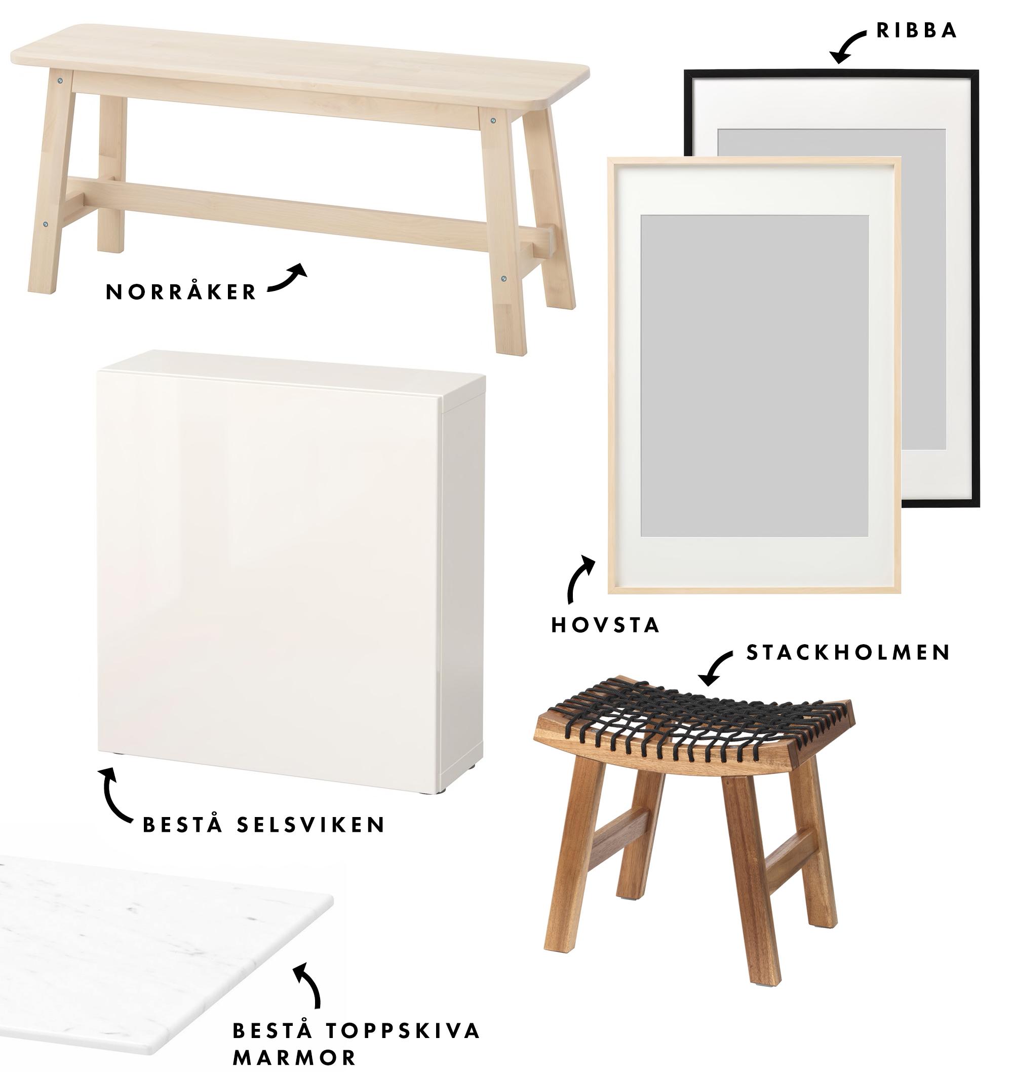 Vad vi handlade på IKEA – vi gick all in! | Vardagsrum, hall & terass | Lifestyle by Sandramaria | Sandramarias.com
