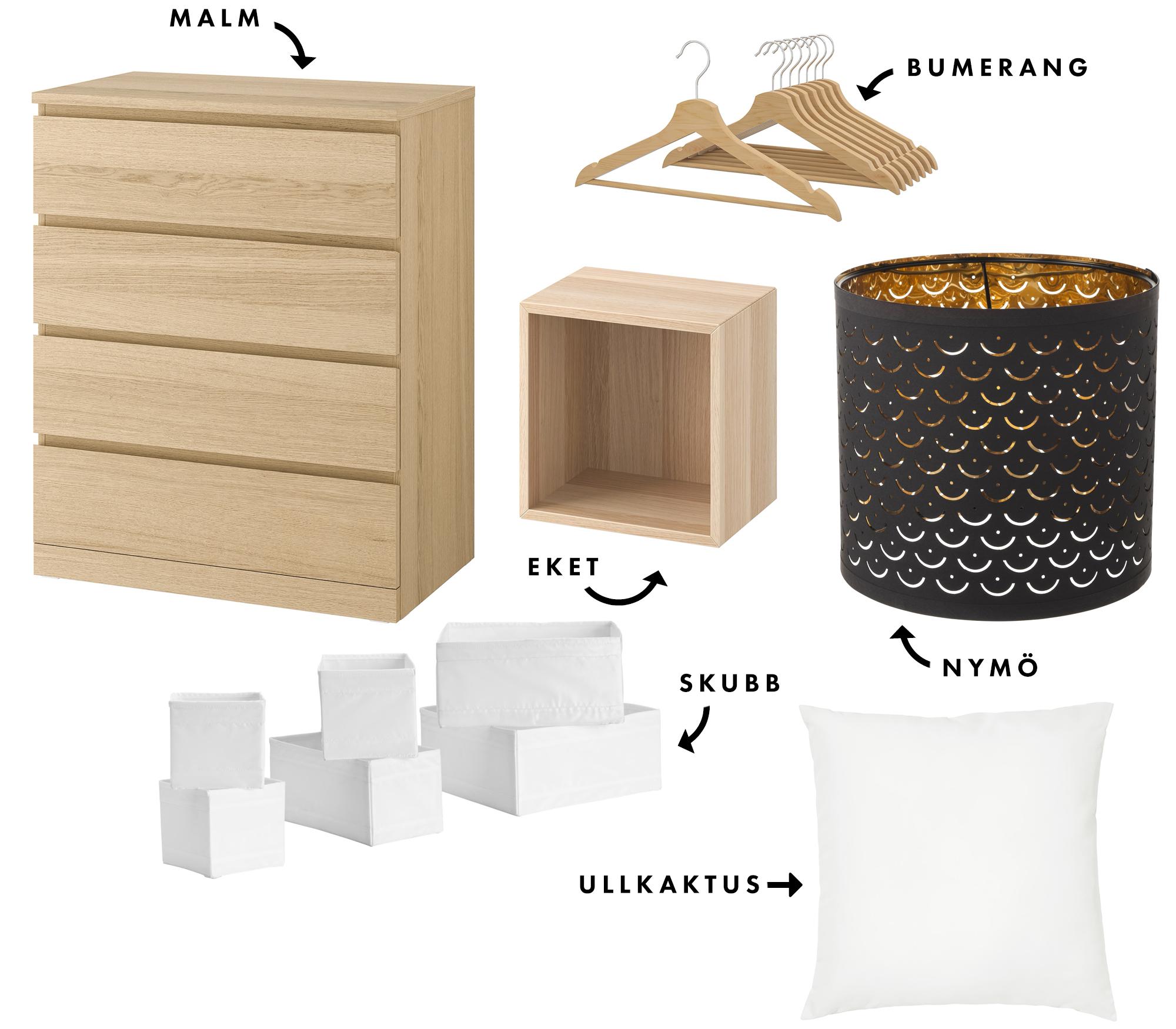 Vad vi handlade på IKEA – vi gick all in! | Sovrum och Walk-in closet | Lifestyle by Sandramaria | Sandramarias.com