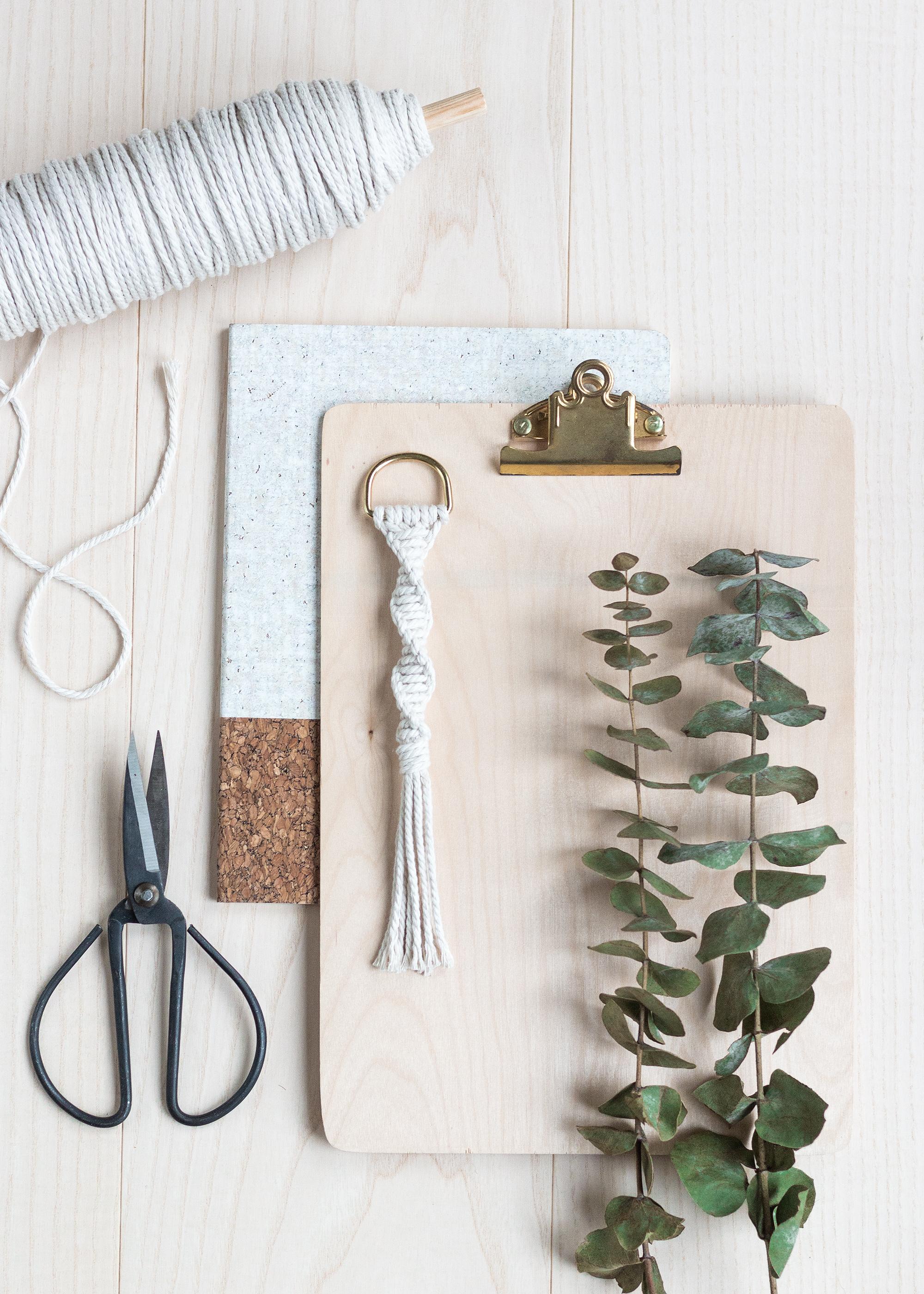Tre makraméknutar man kan göra allt med | Enkelslag | By Sandramaria | Sandramarias.com