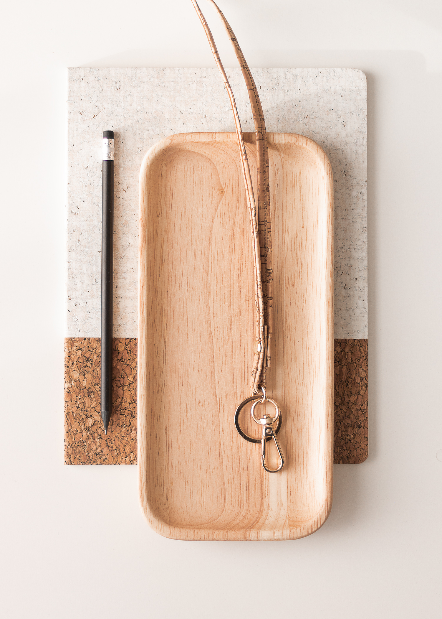 DIY Nyckelband i korktyg   Back-to-school   Back-to-work   Key chain   Gör det själv   By Sandramaria
