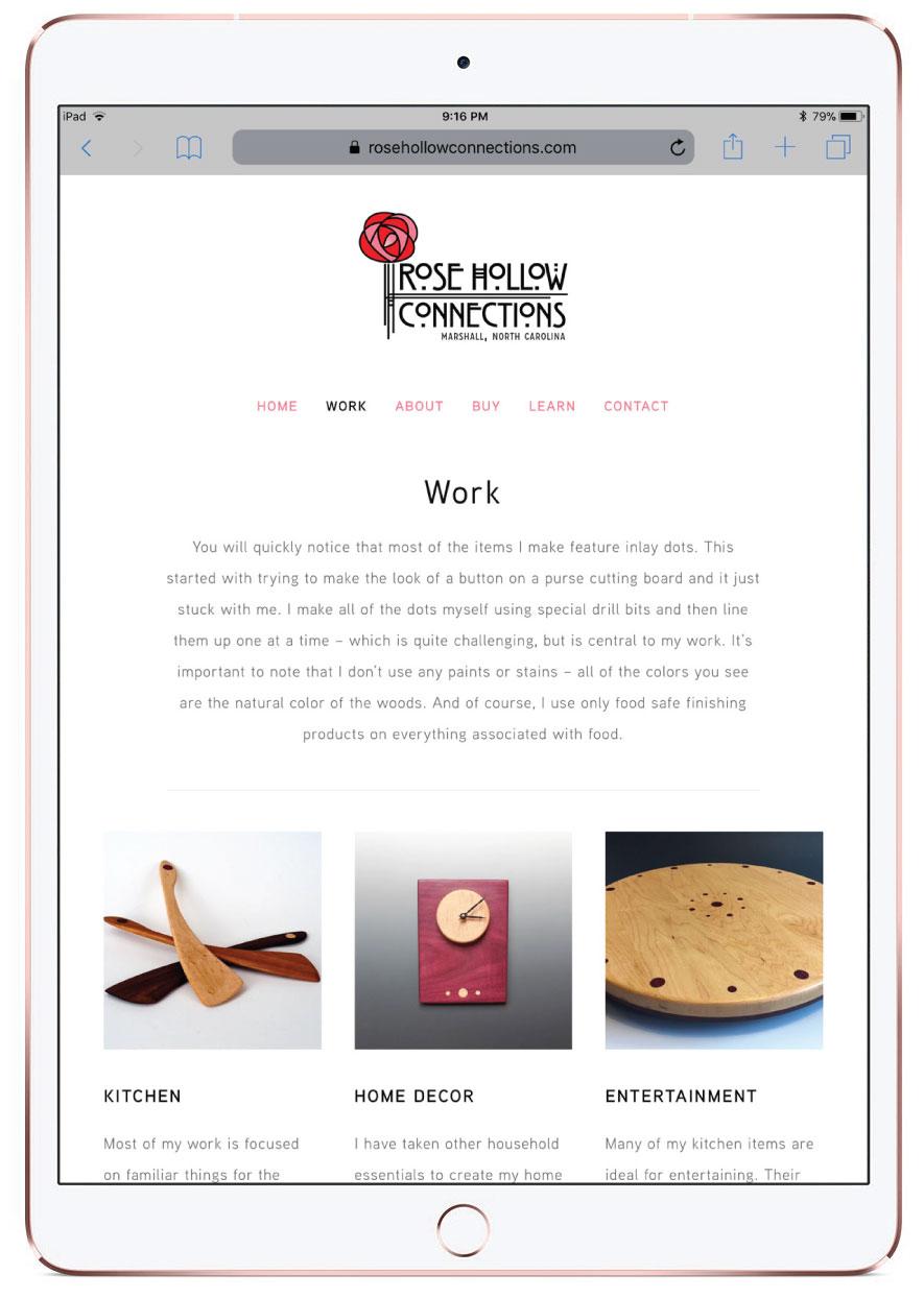 Asheville Artist Website