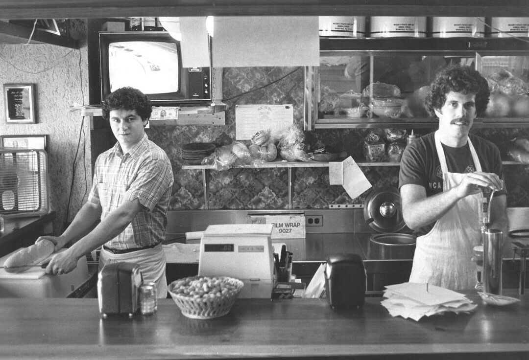 Mac and Bob in the 1980's