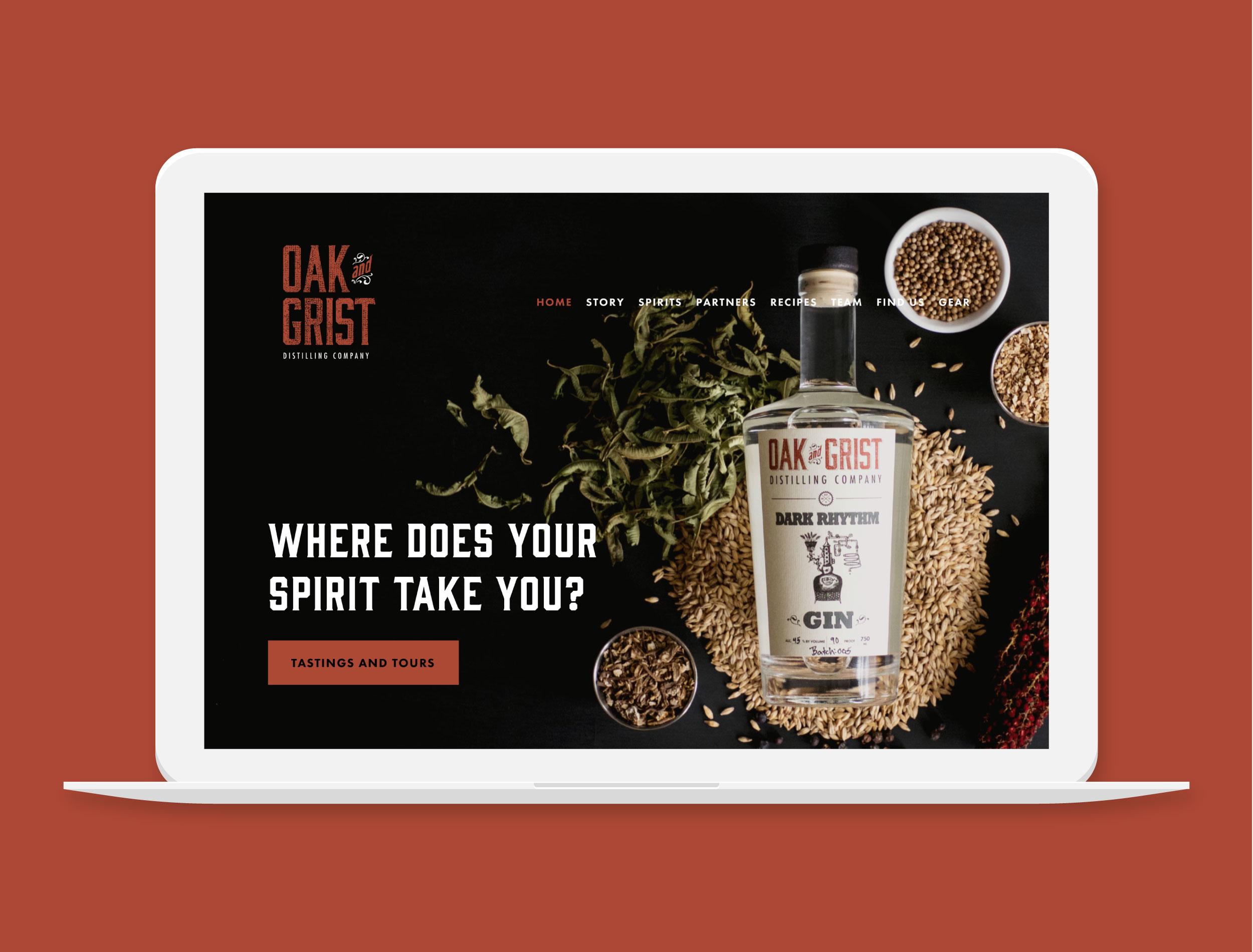 Oak and Grist Distillery    Distillery in Black Mountain, NC  Project Details  Visit Website