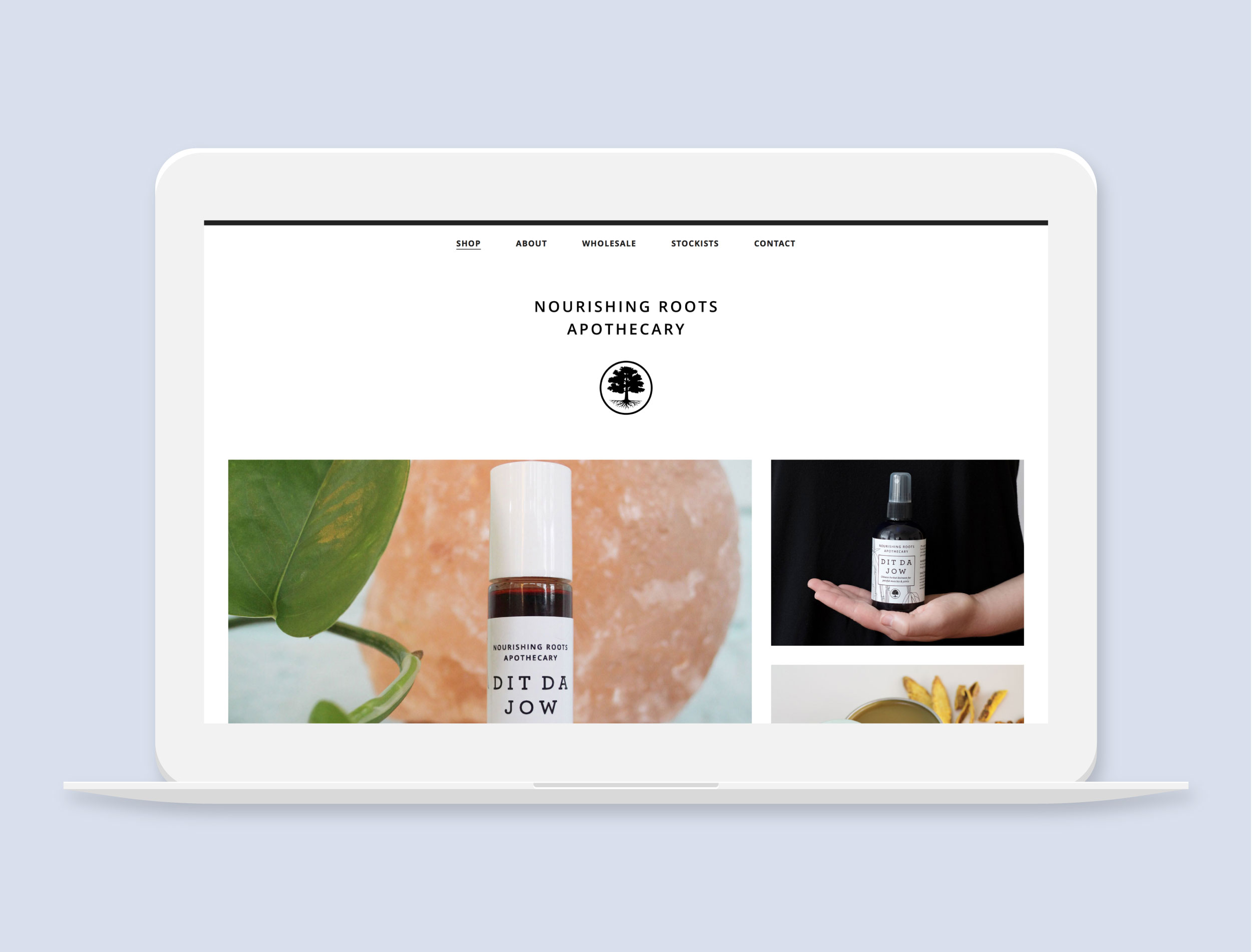 Nourishing Roots Apothecary    Herbal Products in Asheville, NC  Project Details  Visit Website