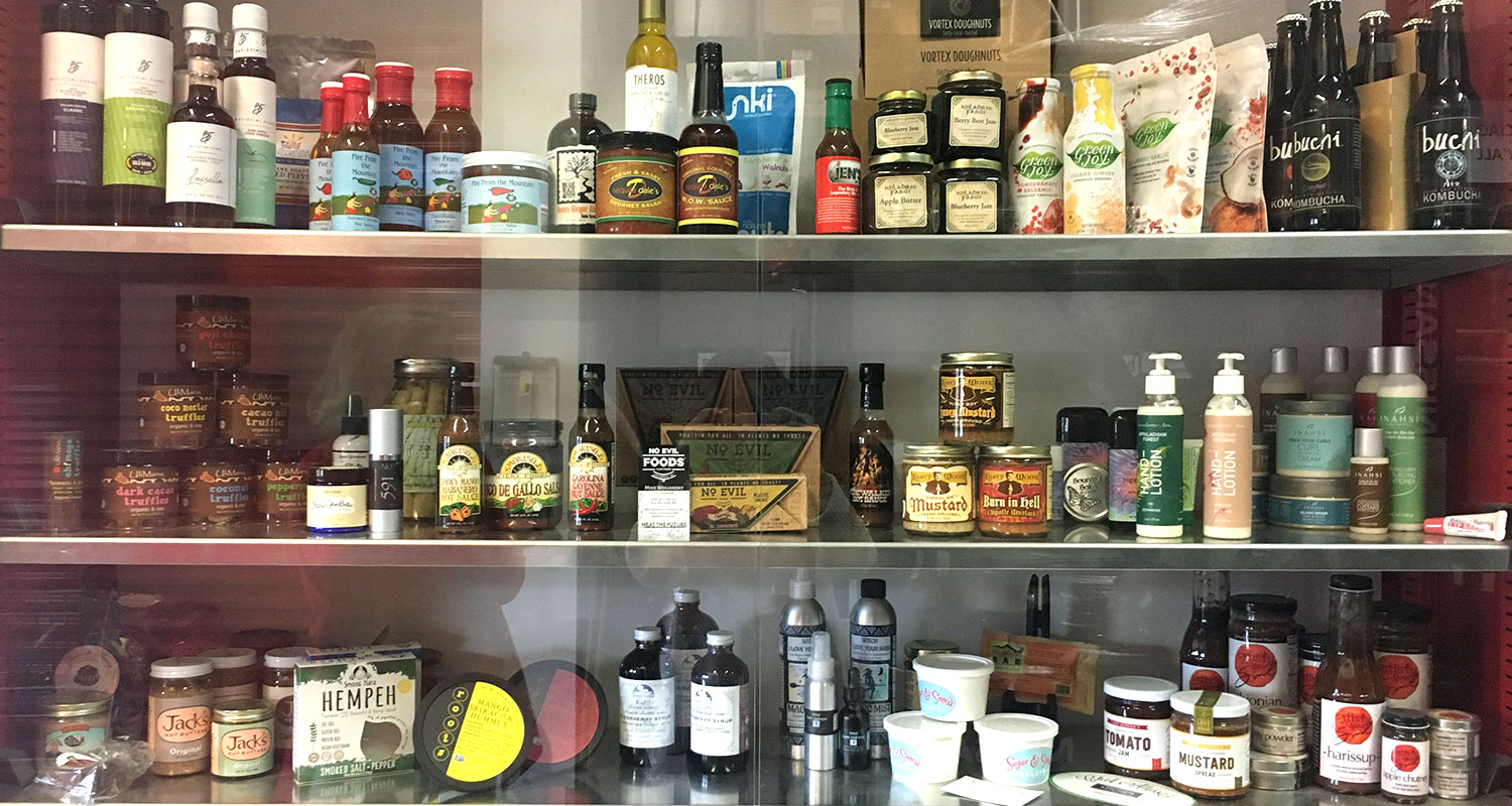 Products that have gone through Blue Ridge Food Ventures program
