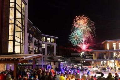 Snowmass Base Village Grand Opening Fireworks