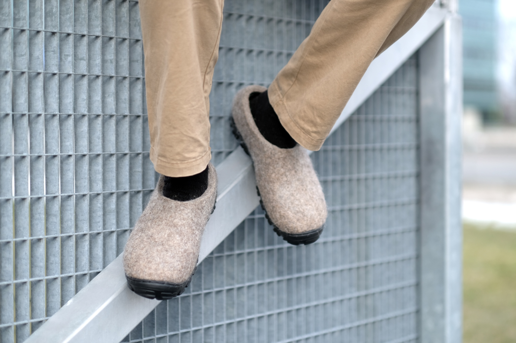 Men Wool Felt Slip-on Shoes Organic Brown 6.jpg