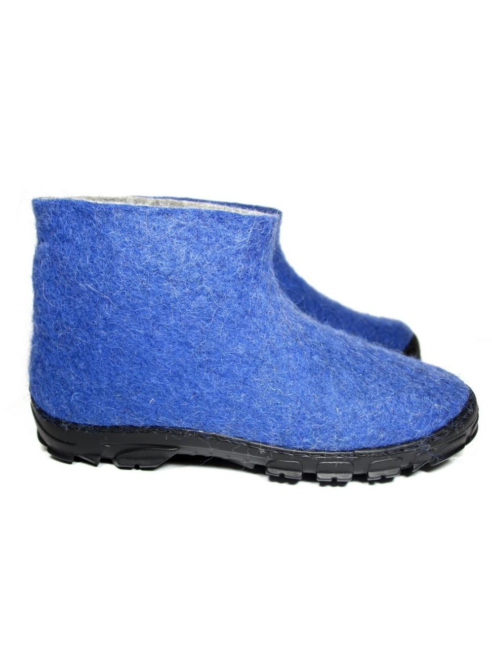 Men's Wool Desert Boots Ocean Blue 2- FELT FORMA.jpg