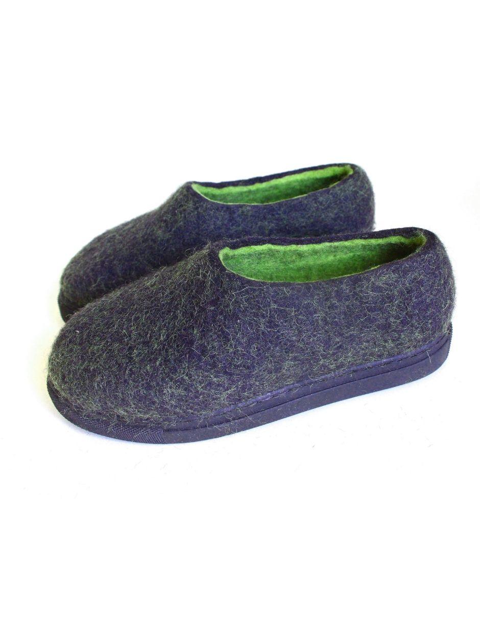 Women's Natural Wool Boots Green Amazon