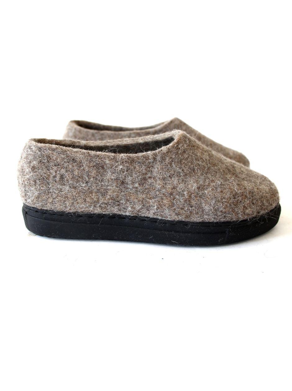 Women's Purest Wool Shoes Beige Fox