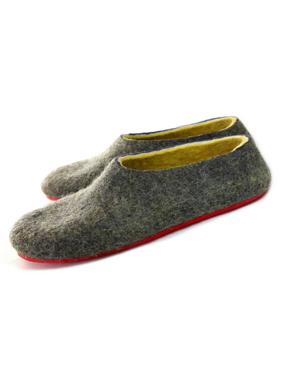 Coming soon -  Check other Men's wool house shoes