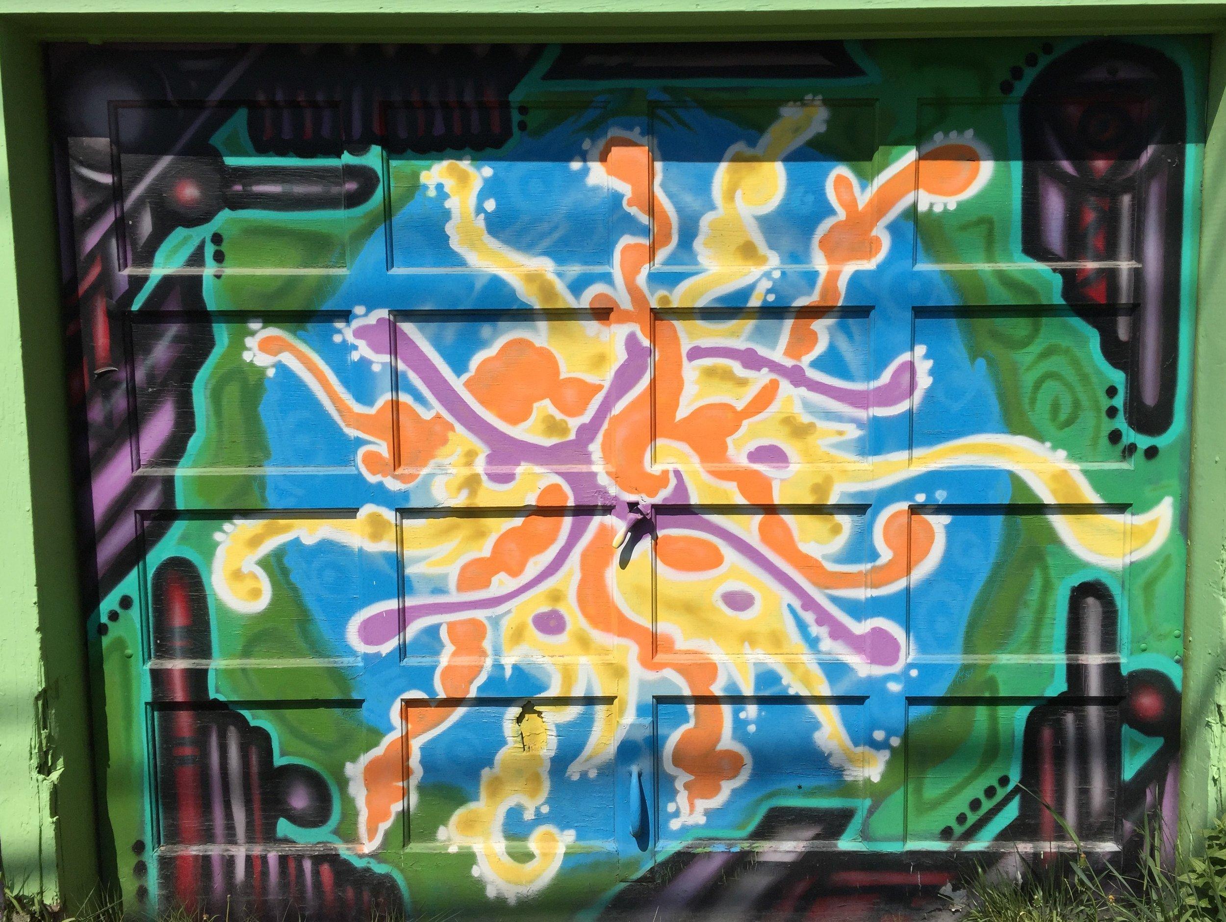 19. Garage Gallery Spirals.JPG