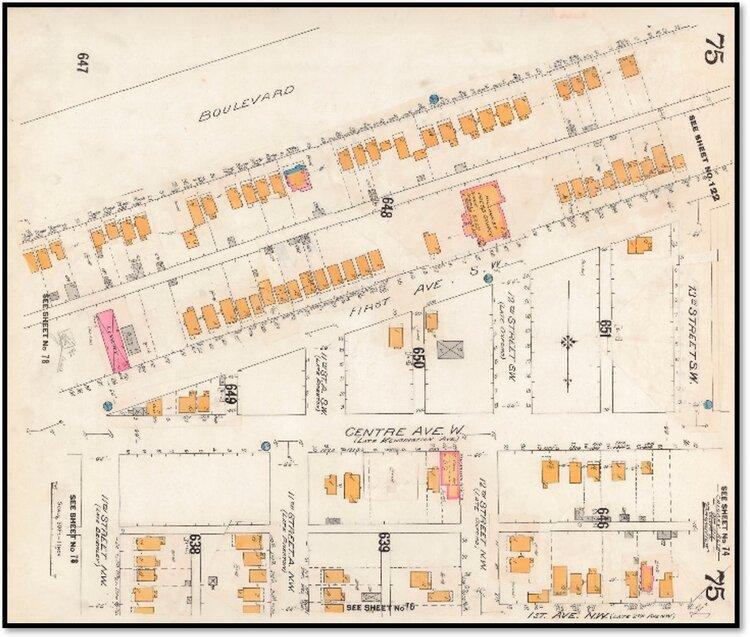 Calgary 1911-14 Fire Insurance Map: University of Calgary